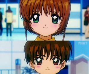 anime, kero, and sakura kinomoto image
