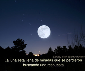 frases, luna, and moon image