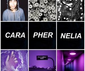 aesthetic, vicfuentes, and purple image