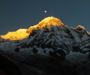 nepal, travel, and annapurna image