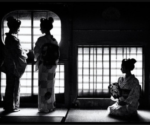 culture, geisha, and japan image