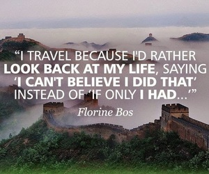 life, quotes, and travel image