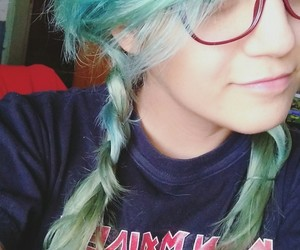 bluehair, ironmaiden, and dyedhair image