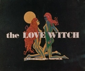 witch, vintage, and love image
