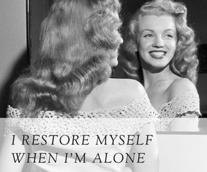 alone, marilyn, and Marilyn Monroe image