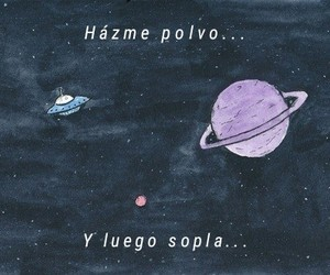 amor, frases, and galaxia image