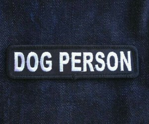 dog, person, and dog person image