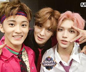 mark, jaehyun, and taeyong image