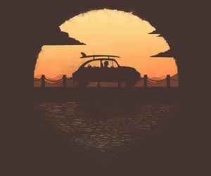 illustration, threadless, and summer trip image