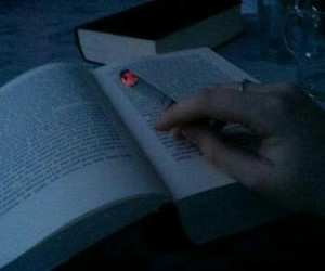 book, grunge, and smoke image
