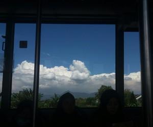 cloud, sky, and windowlight image