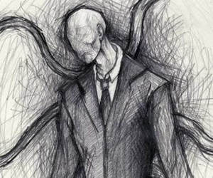 slenderman and creepypasta image