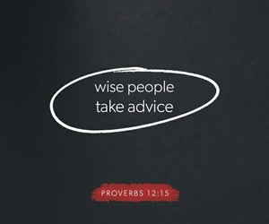 advice, motivation, and bible verse image