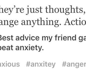 advice, anxiety, and beat image
