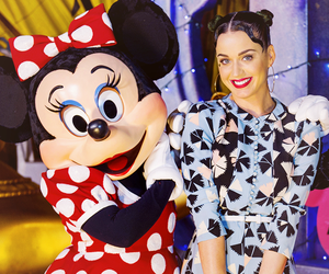 disney, katy perry, and minnie mouse image