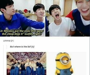funny, jinyoung, and got7 image