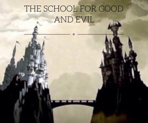 sge, school for good and evil, and towers like twinheads image