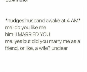 friend, husband, and like image