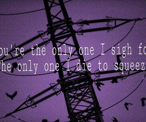 Lyrics, wires, and only one image