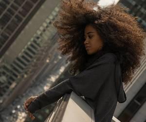 beautiful hair, natural hair, and thick hair image