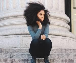 beautiful hair, big hair, and natural hair image