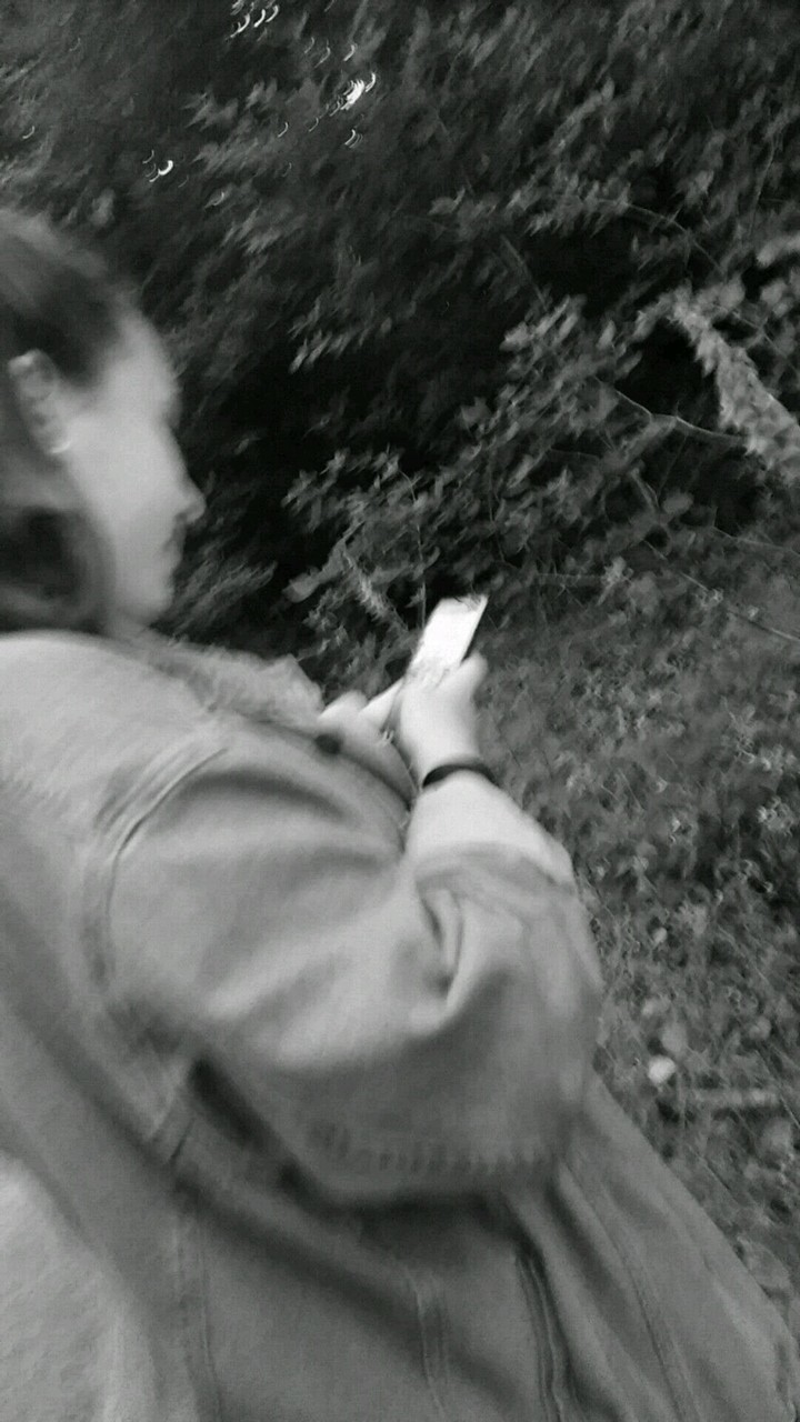 black and white, phone, and cigarette image