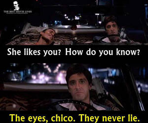 pacino, scarface, and eyes never lie image
