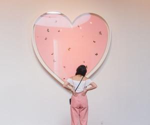 girl, mood, and pink image