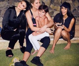 kim kardashian, kardashian, and kylie jenner image