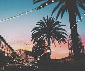 amusement park, black, and colors image