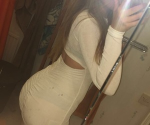 ass, curve, and dress image