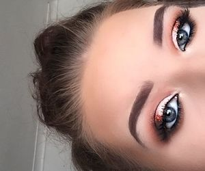 beauty, eye, and make-up image