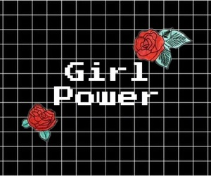 girl, feminist, and power image
