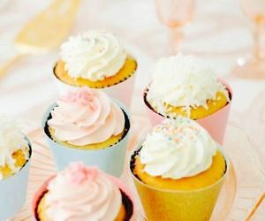 cupcake, cake, and candy image