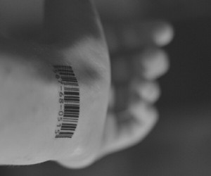 barcode, black, and glasses image