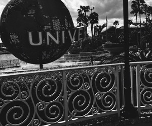 black and white, orlando, and universal image
