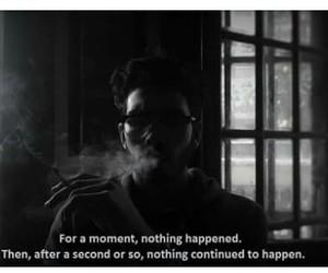 alone, caption, and life image