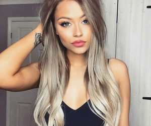 Beautiful Girls, hairstyle, and long hair image