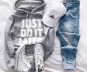 adidas, nike, and jeans image