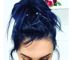 blue, cosmic, and hairinspiration image