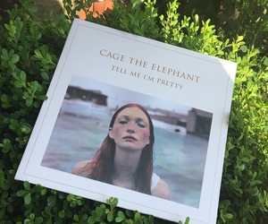 cage the elephant, music, and vinyl image