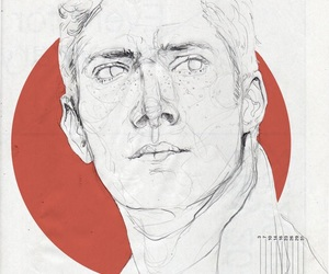 dean winchester, drawing, and fanart image