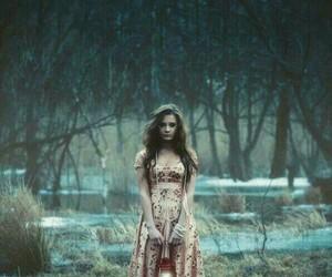 girl, dress, and fantasy image