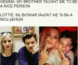 one direction, funny, and louis tomlinson image