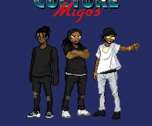game, dope art, and migos image