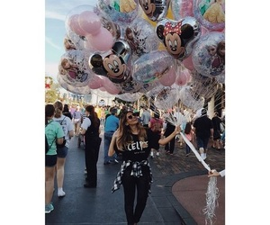 balloons, disney, and disney world image