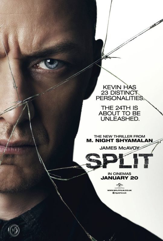split, horror, and movie image