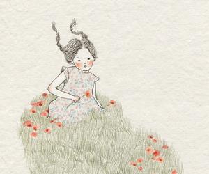bunny and girl image