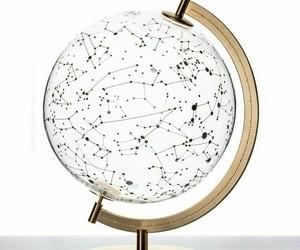 globo, night sky, and stars image