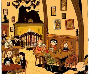 harry potter, drawing, and hermione granger image